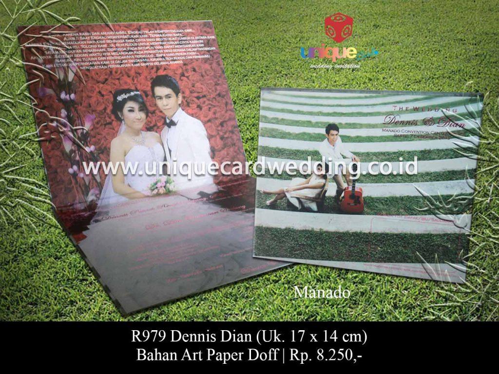 undangan pernikahan-Dennis Dian
