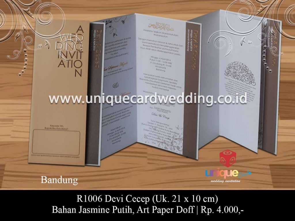 undangan pernikahan-Devi Cecep