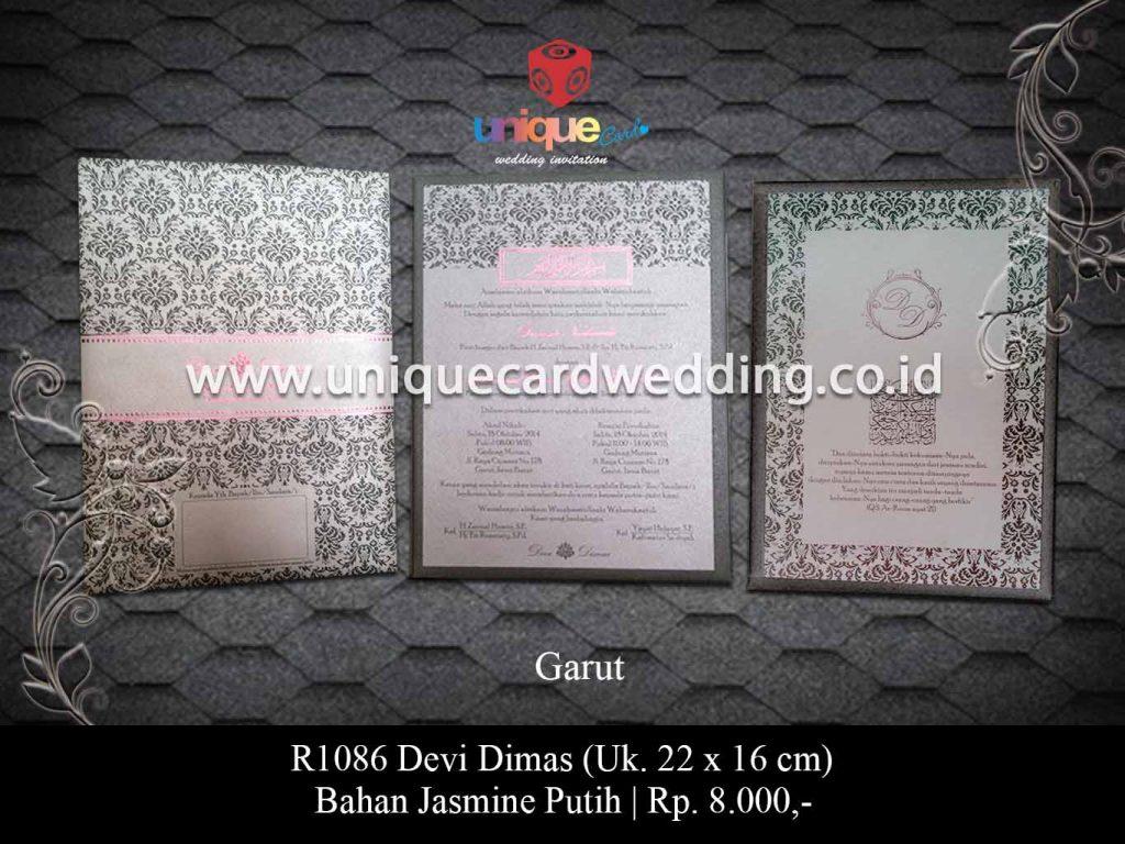 undangan pernikahan-Devi Dimas