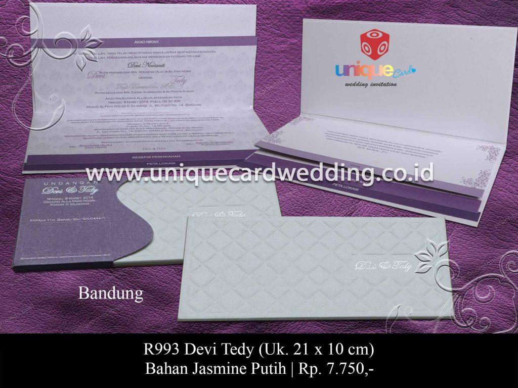 undangan pernikahan-Devi Tedy