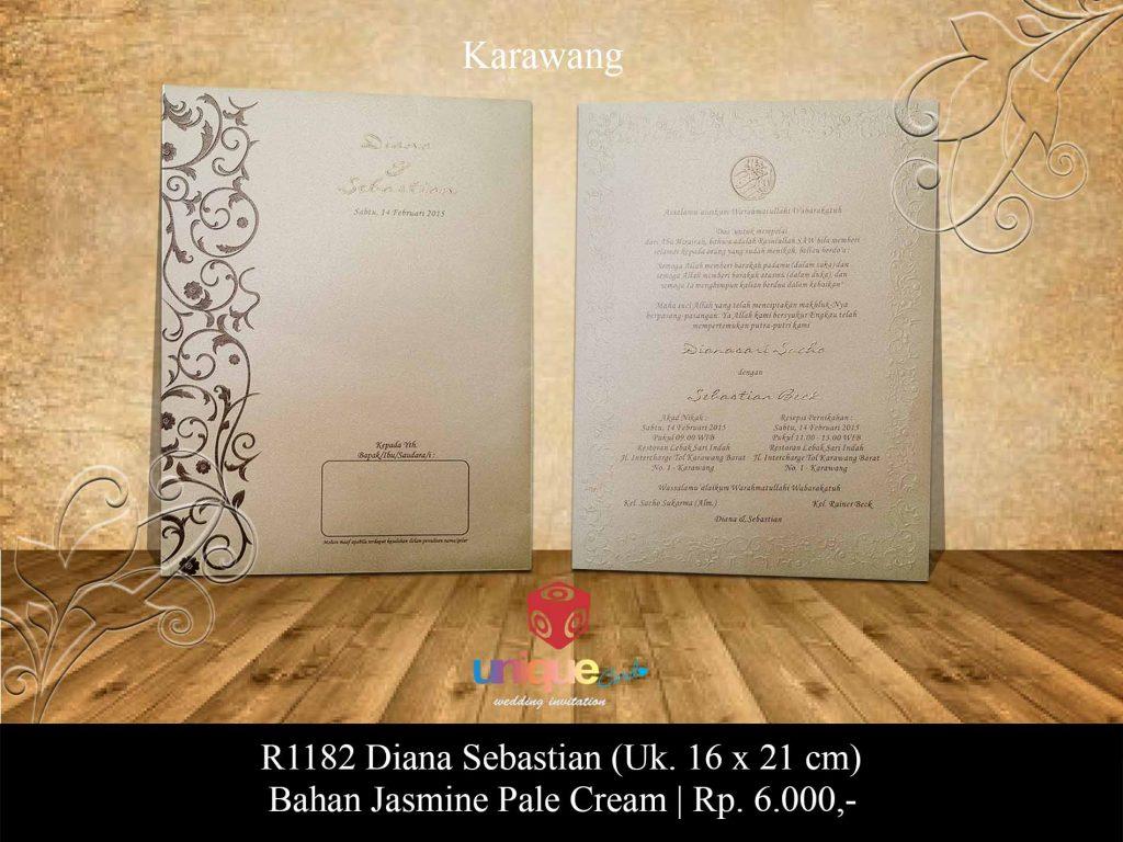 undangan pernikahan-Diana Sebastian