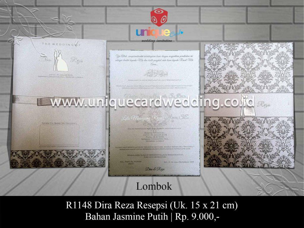 undangan pernikahan-Dira Reza