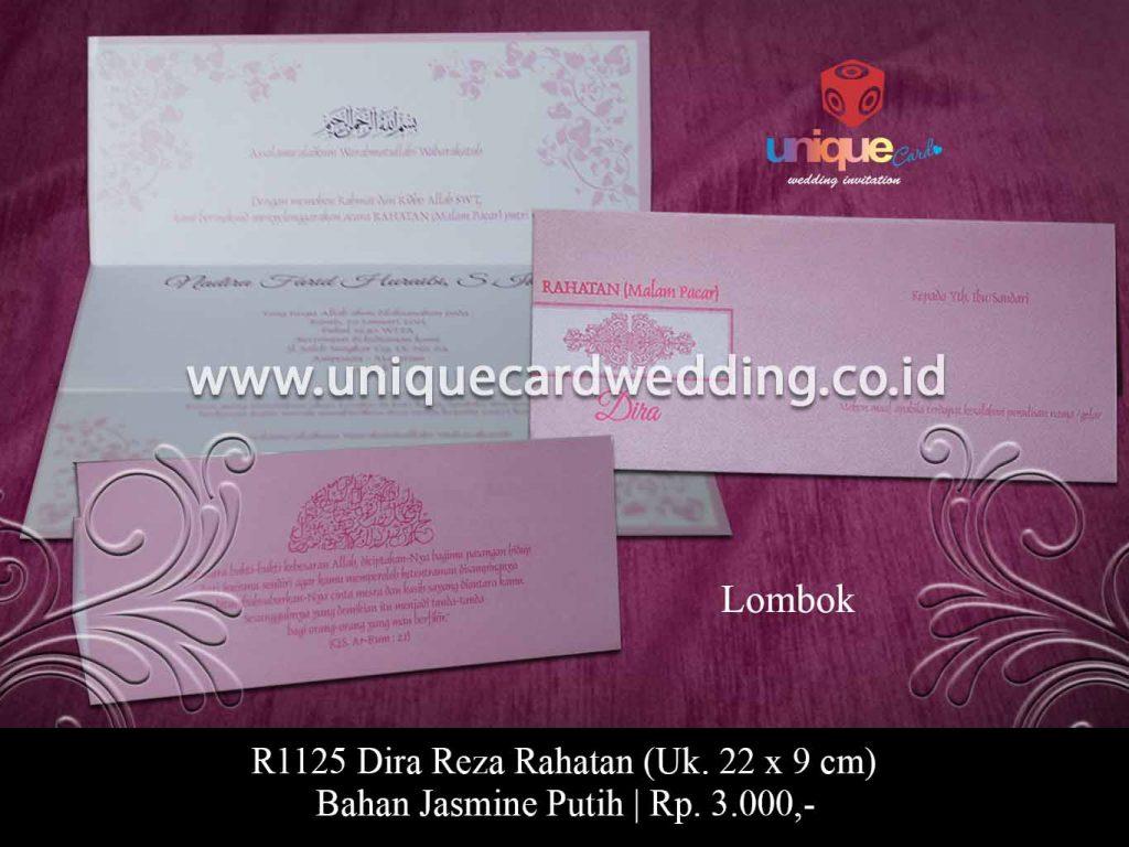 undangan pernikahan-Dira Reza Rahatan