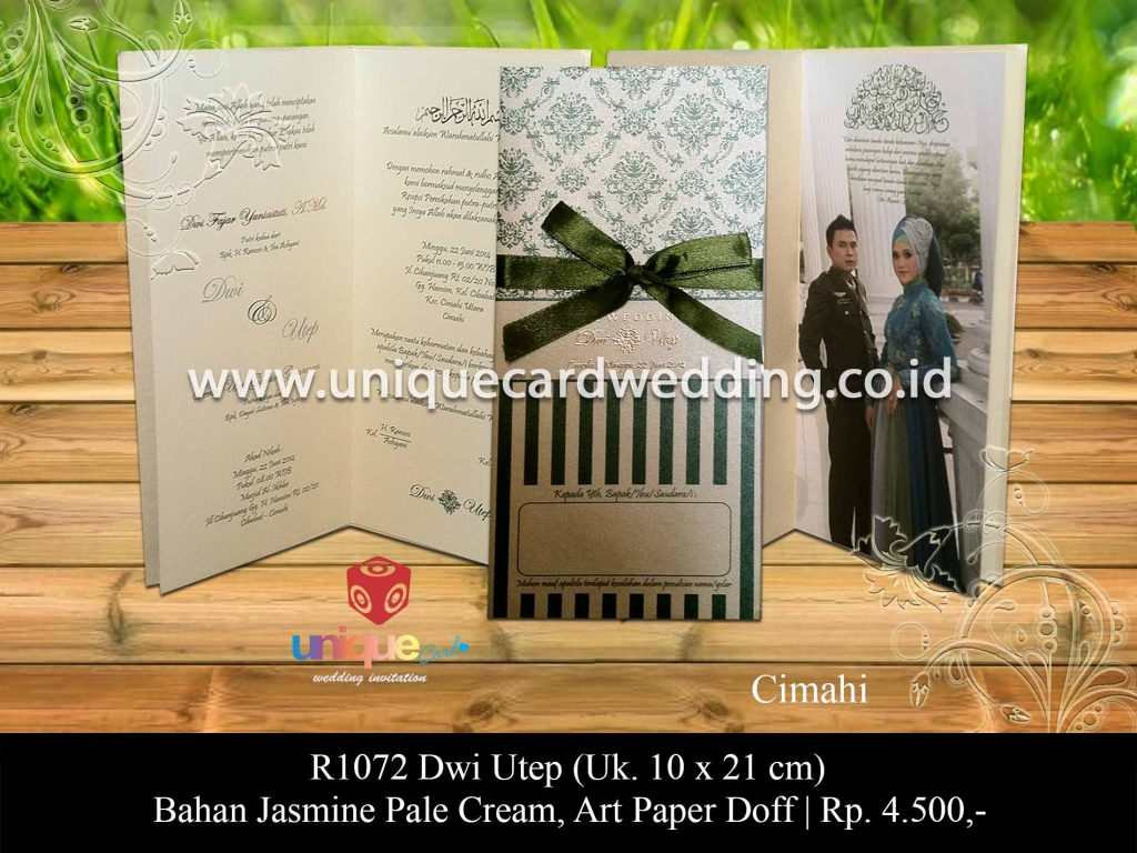 undangan pernikahan-Dwi Utep