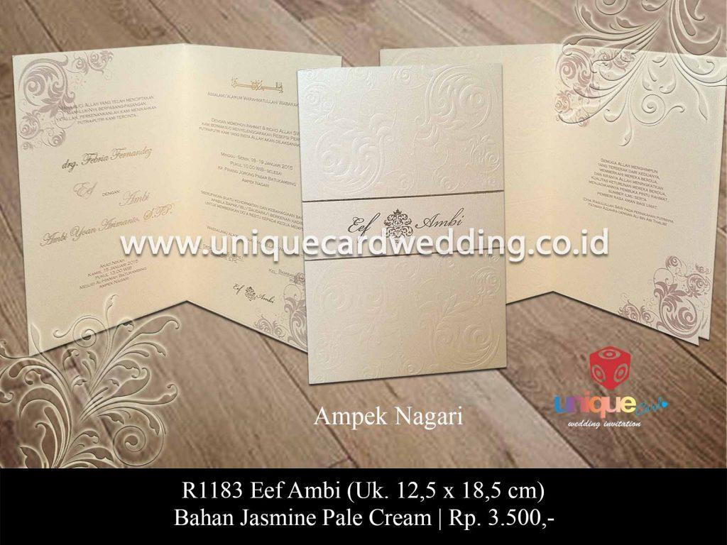 undangan pernikahan-Eef Ambi