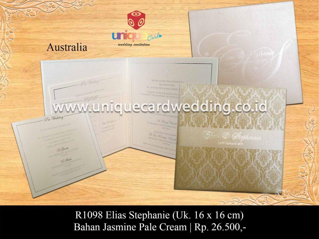 undangan pernikahan-Elias Stephanie