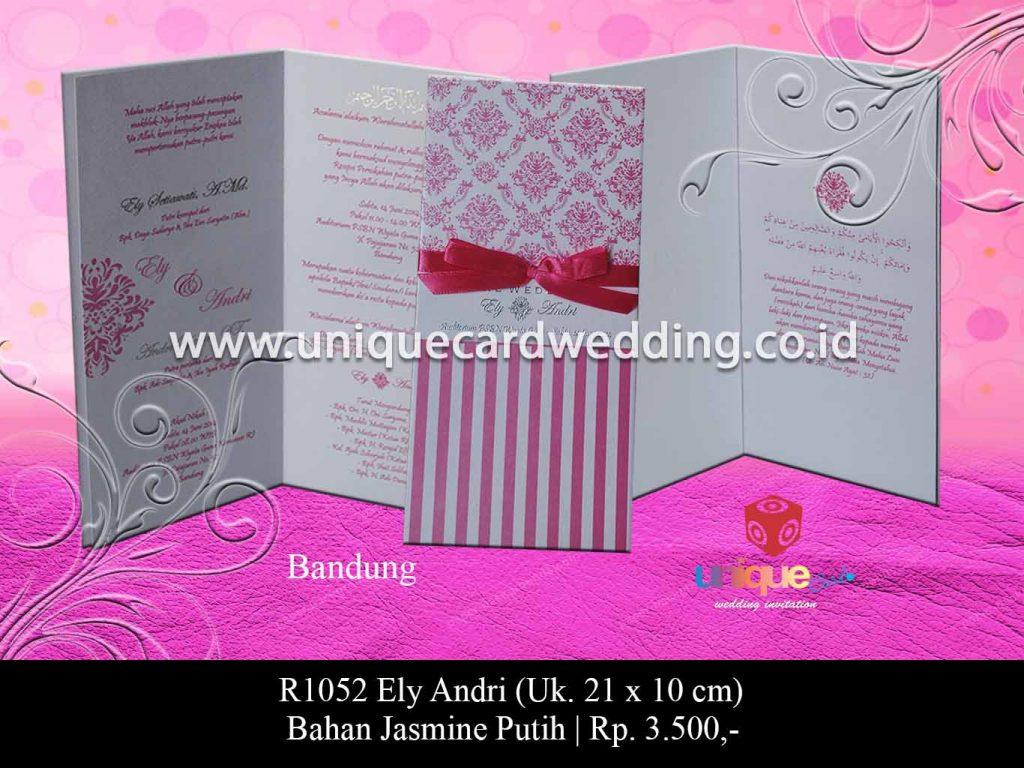 undangan pernikahan-Ely Andri