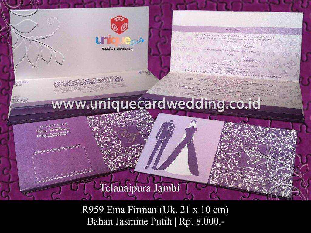 undangan pernikahan-Ema Firman
