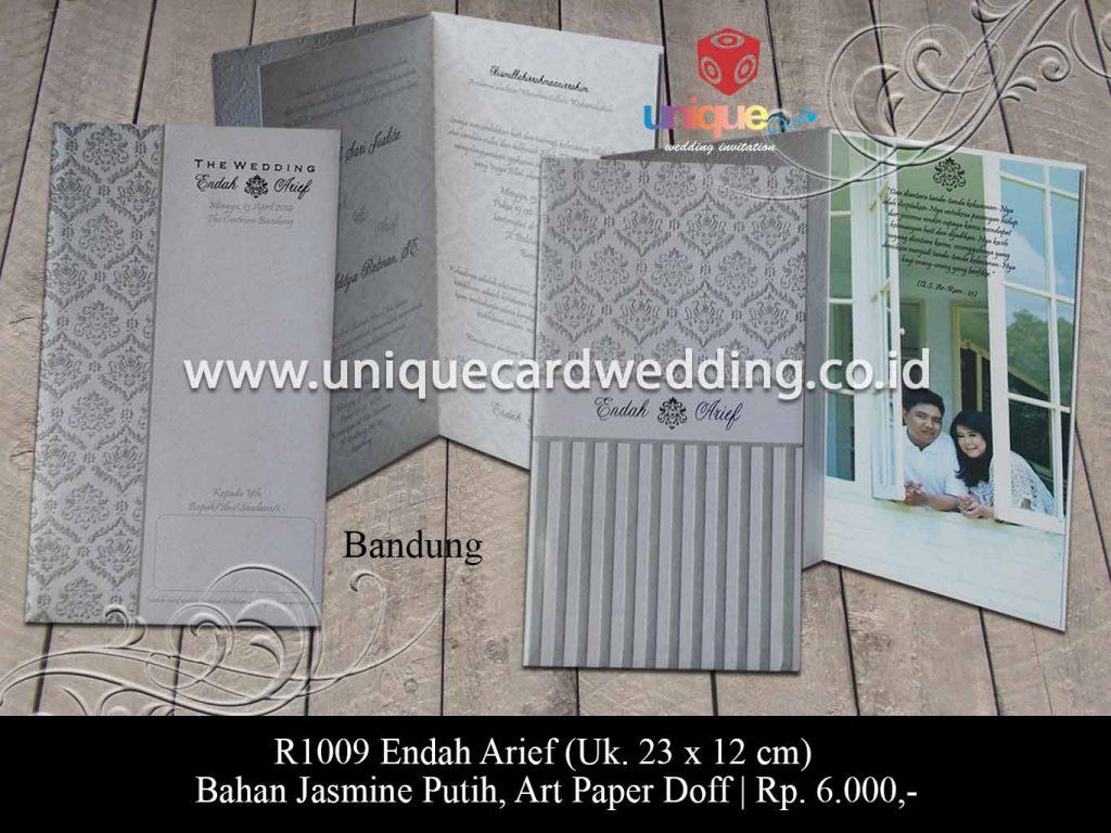undangan pernikahan-Endah Arief