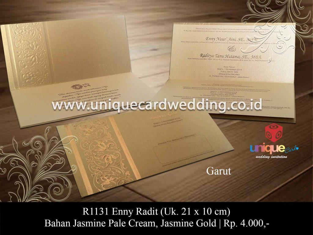 undangan pernikahan-Enny Radit