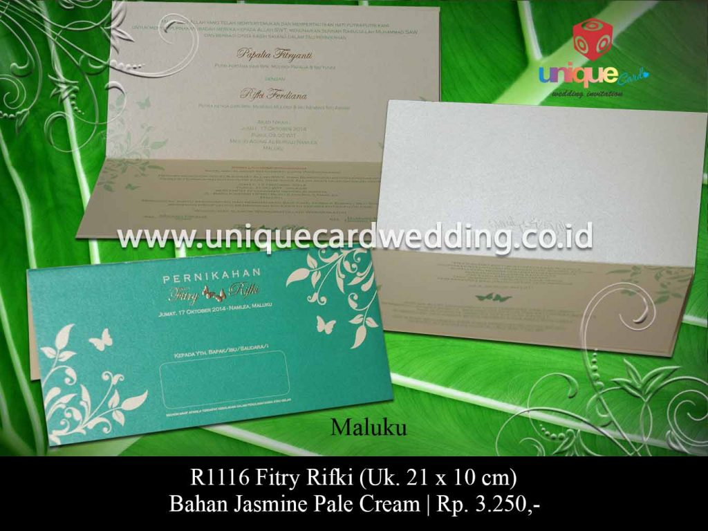 undangan pernikahan-Fitry Rifki