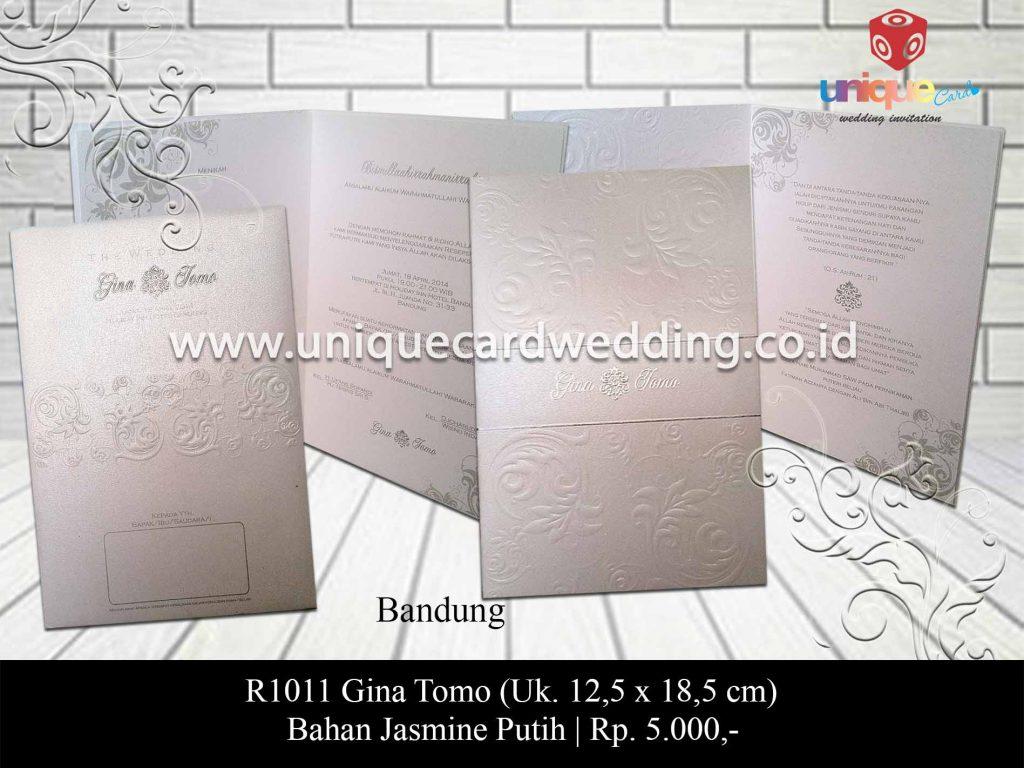 undangan pernikahan-Gina Tomo