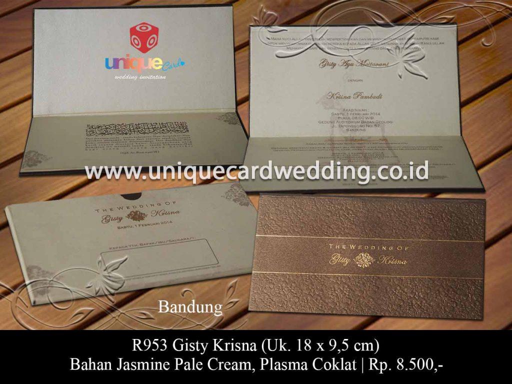 undangan pernikahan-Gisty Krisna
