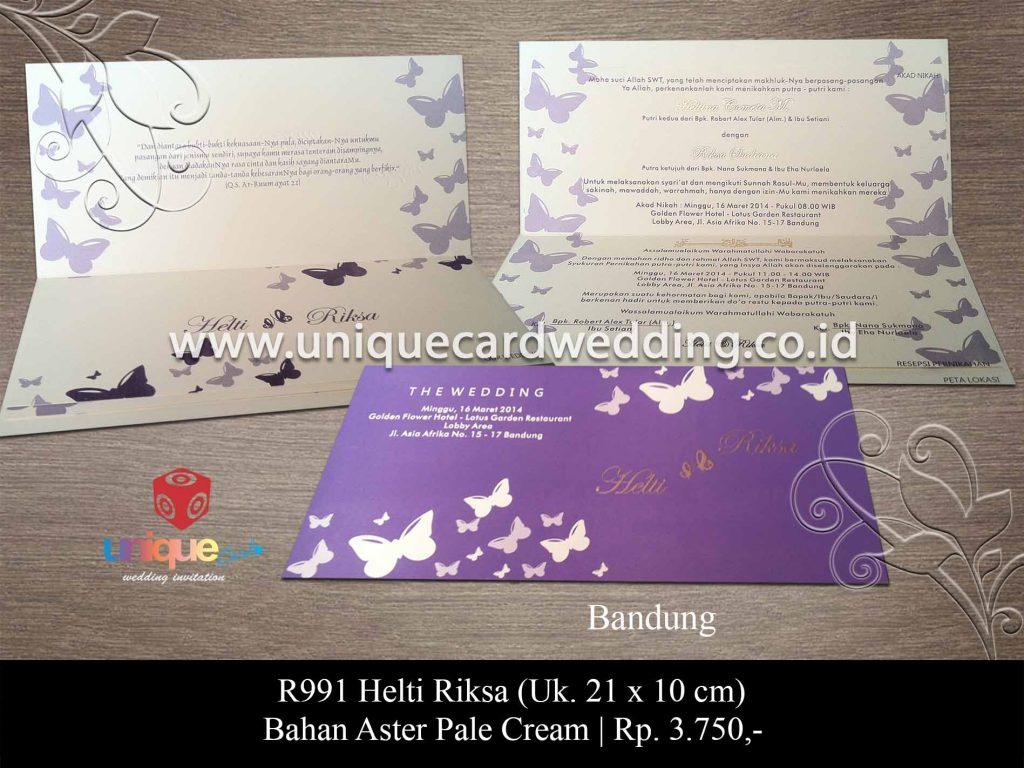 undangan pernikahan-Helti Riksa