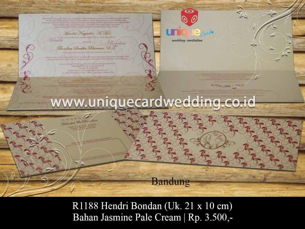 undangan pernikahan-Hendri Bondan