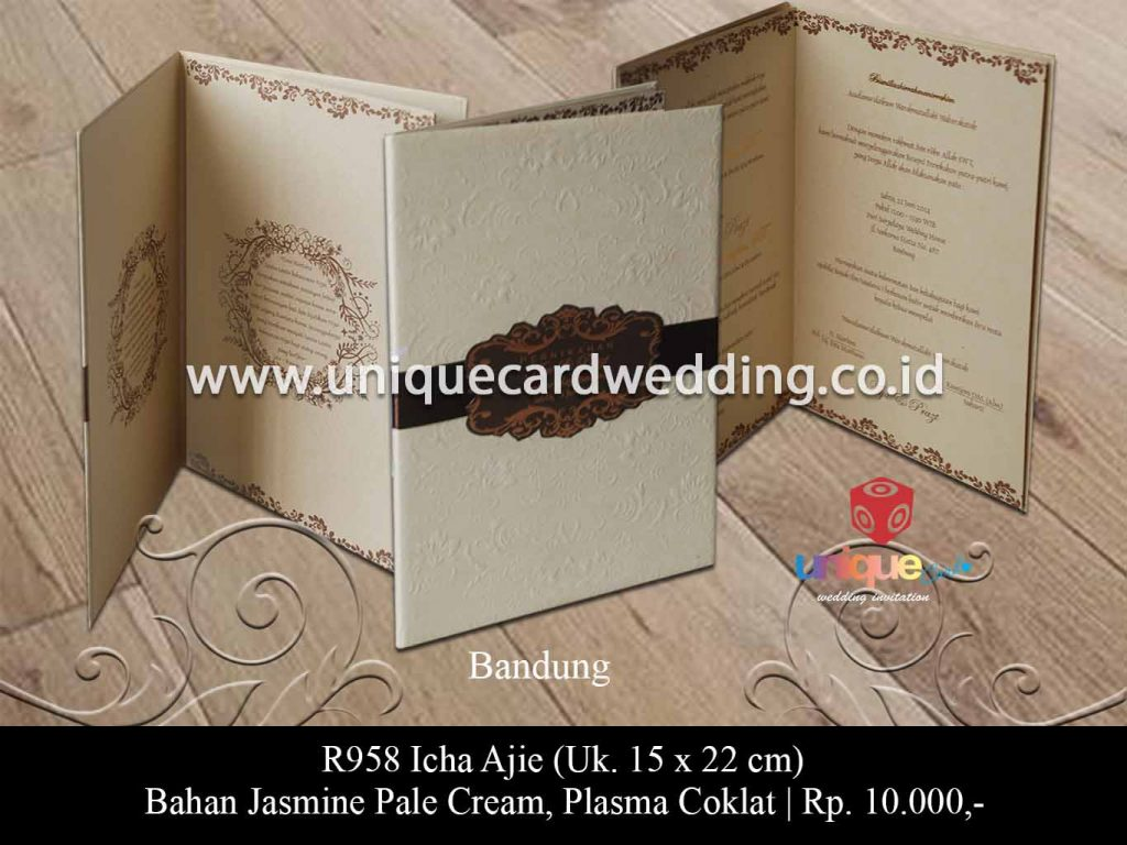 undangan pernikahan-Icha Ajie