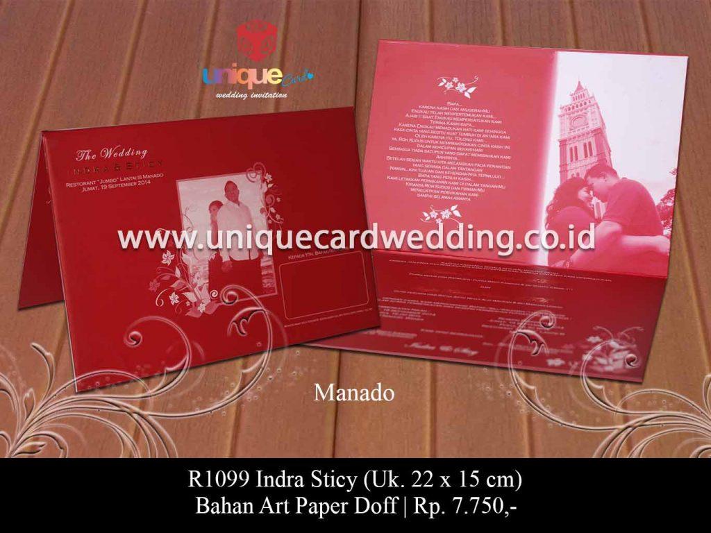 undangan pernikahan-Indra Sticy