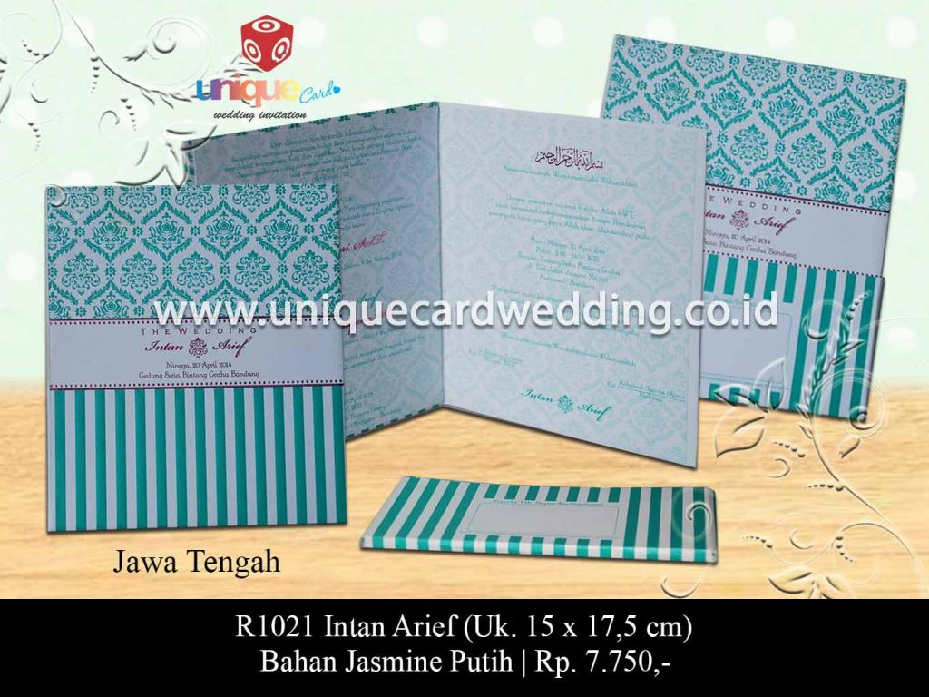 undangan pernikahan-Intan Arief