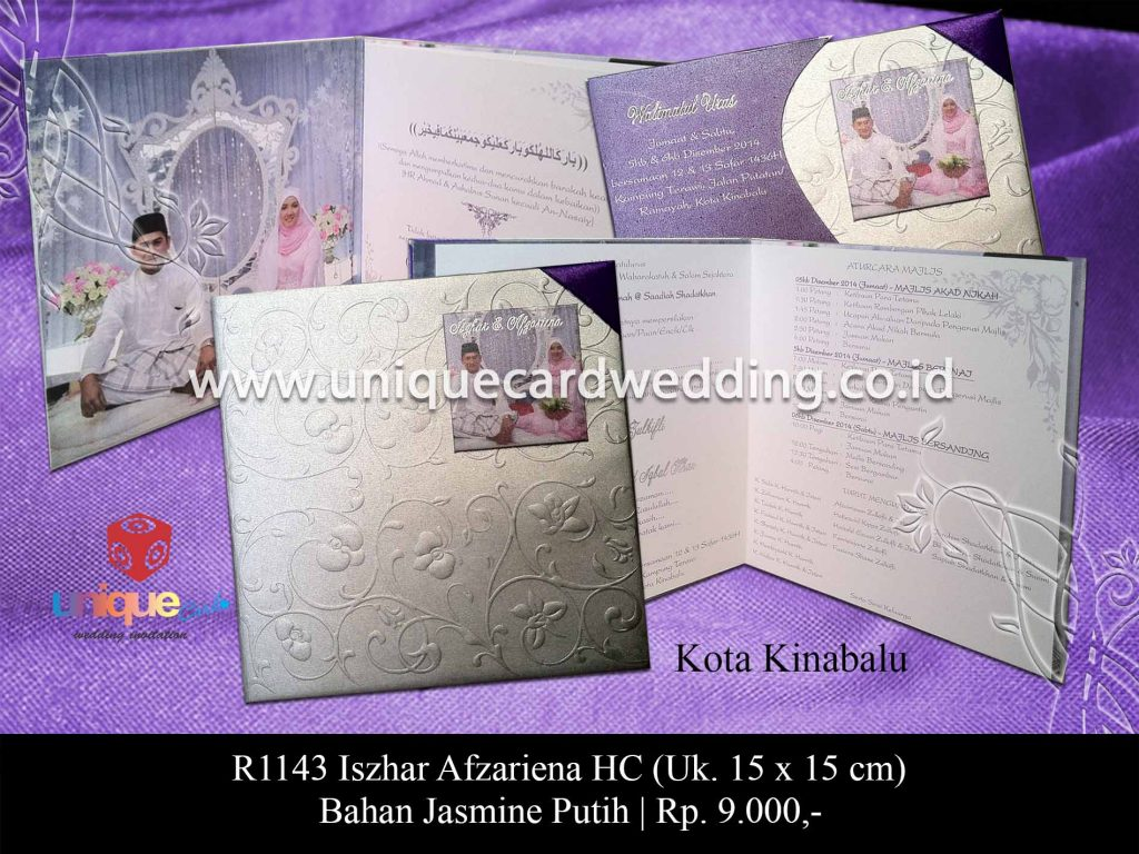 undangan pernikahan-Iszhar Afzariena