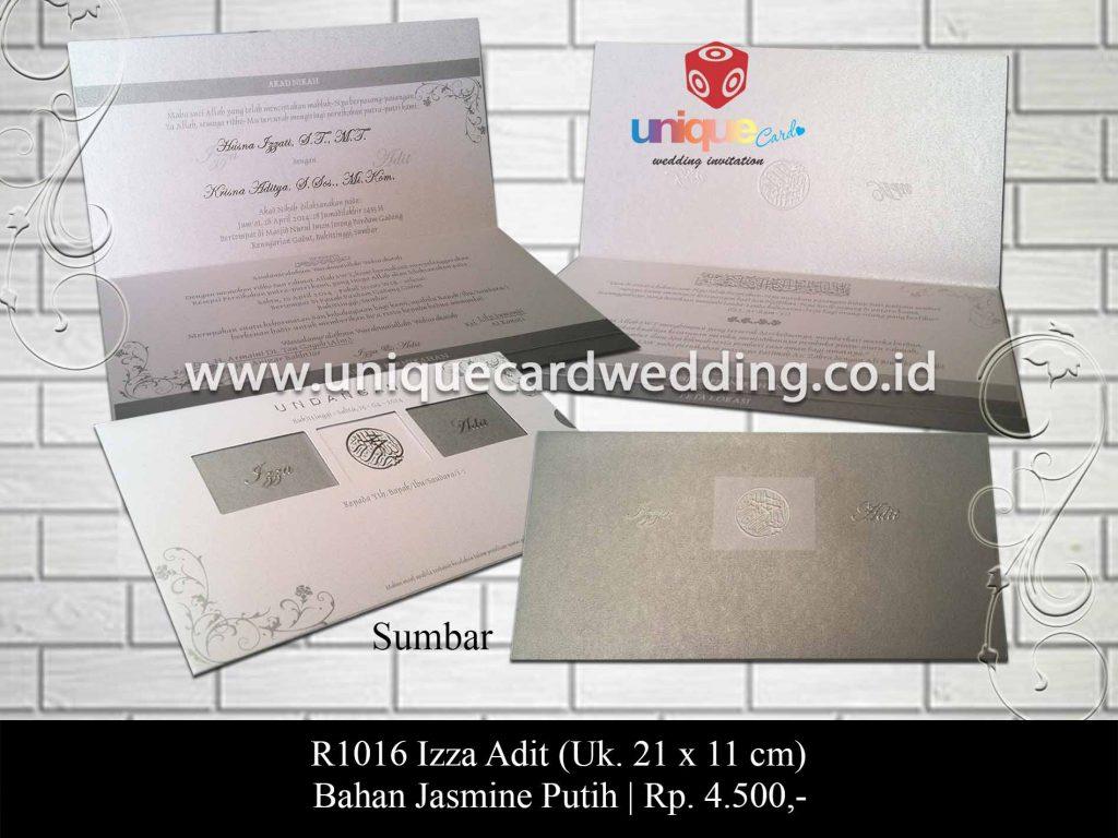 undangan pernikahan-Izza Adit