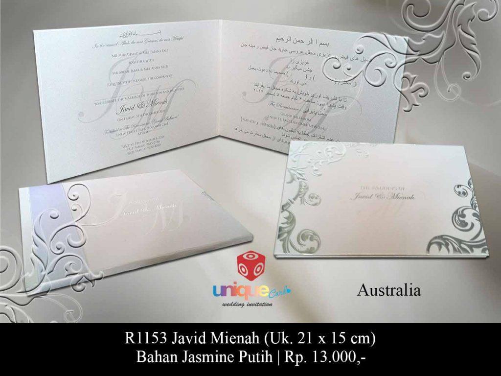 undangan pernikahan-Javid Mienah