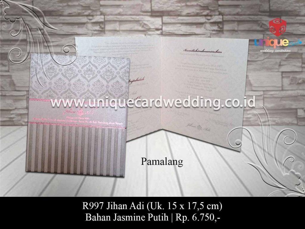 undangan pernikahan-Jihan Adi