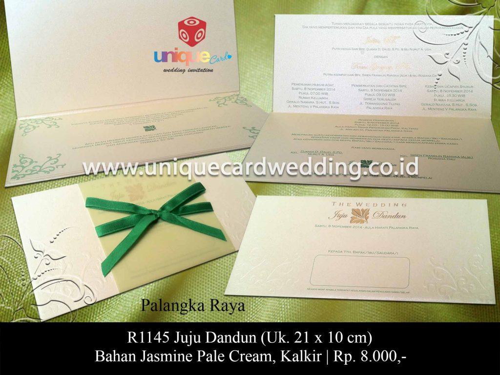 undangan pernikahan-Juju Dandun