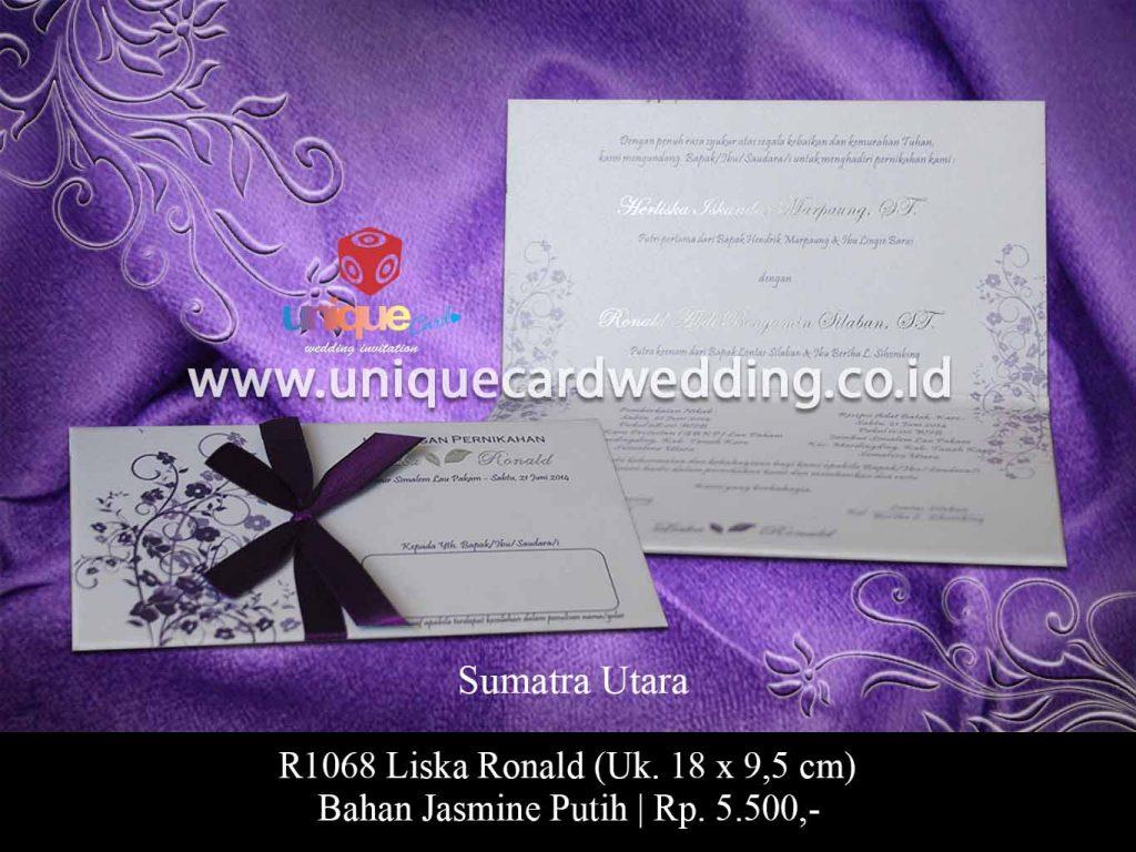 undangan pernikahan-Liska Ronald