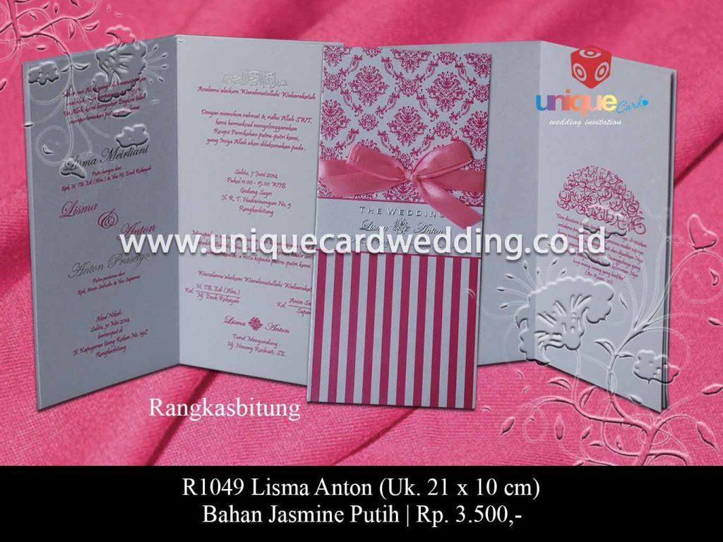 undangan pernikahan-Lisma Anton