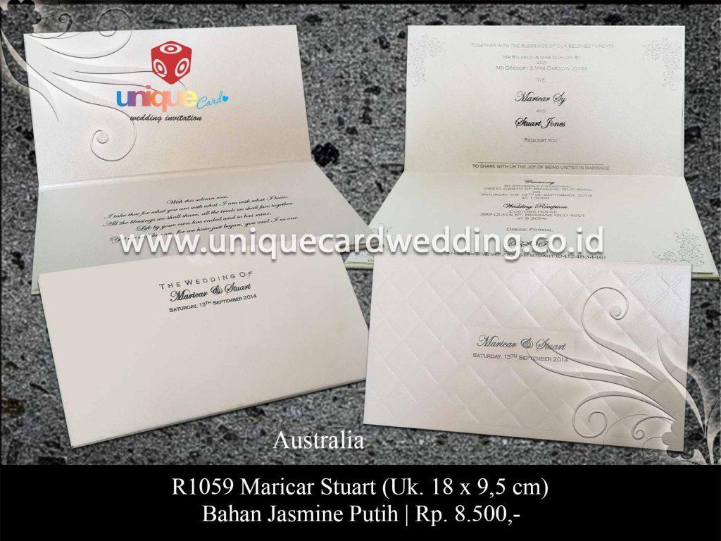 undangan pernikahan-Maricar Stuart