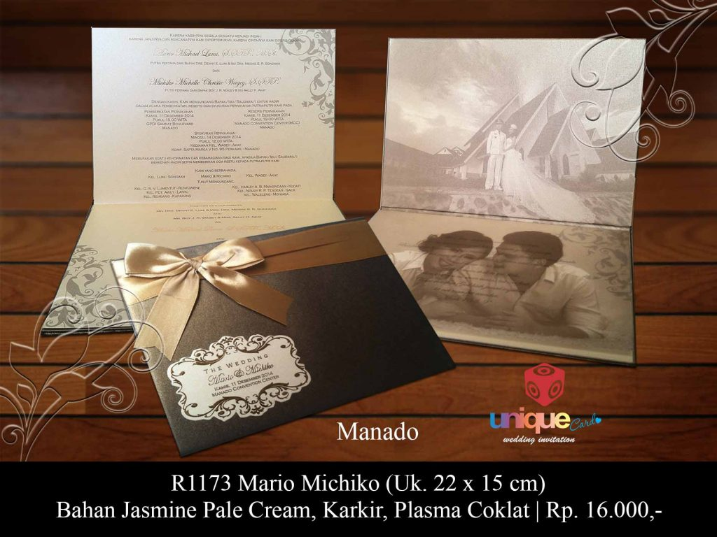 undangan pernikahan-Mario Michiko