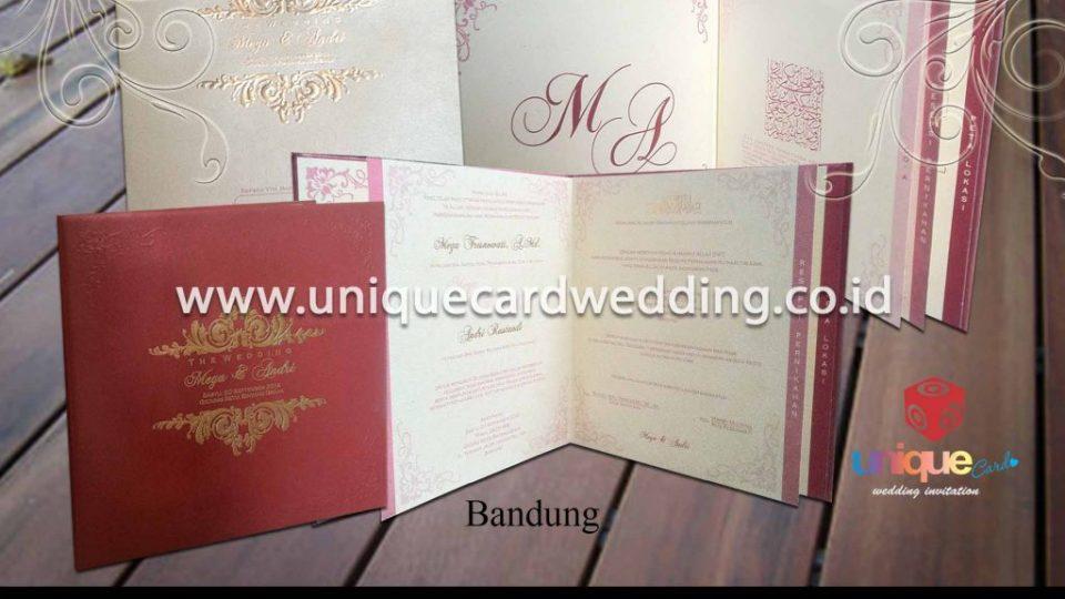 undangan pernikahan-Mega Andri