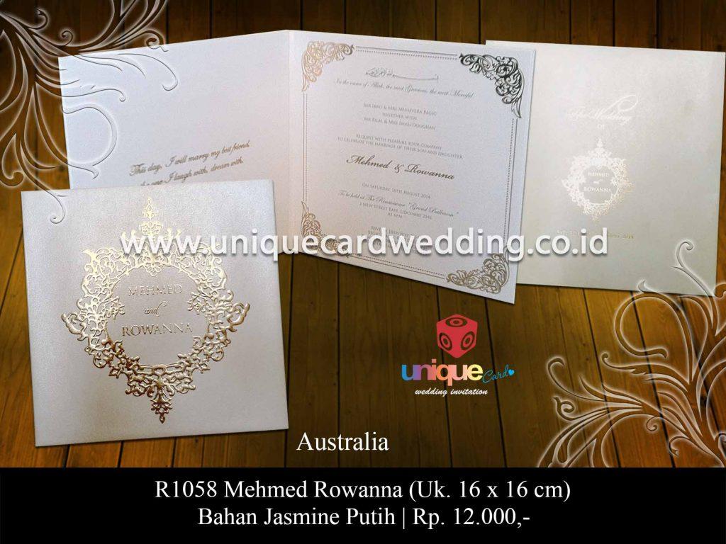 undangan pernikahan-Mehmed Rowanna