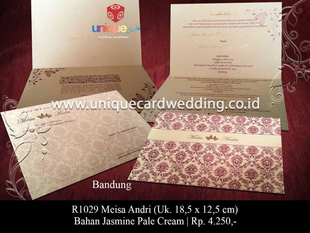 undangan pernikahan-Meisa Andri