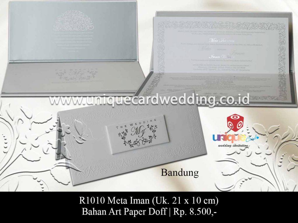 undangan pernikahan-Meta Iman
