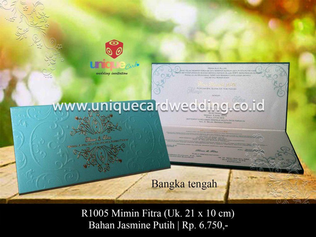 undangan pernikahan-Mimin Fitra