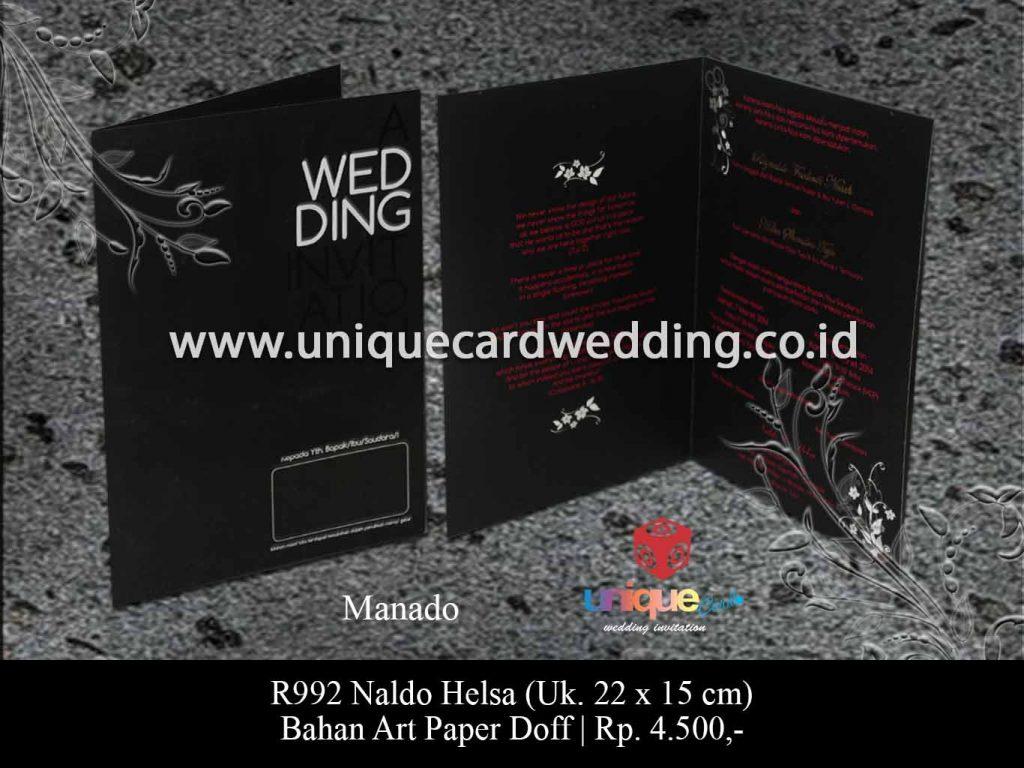 undangan pernikahan-Naldo Helsa