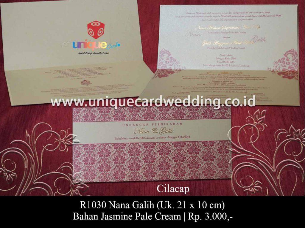 undangan pernikahan-Nana Galih