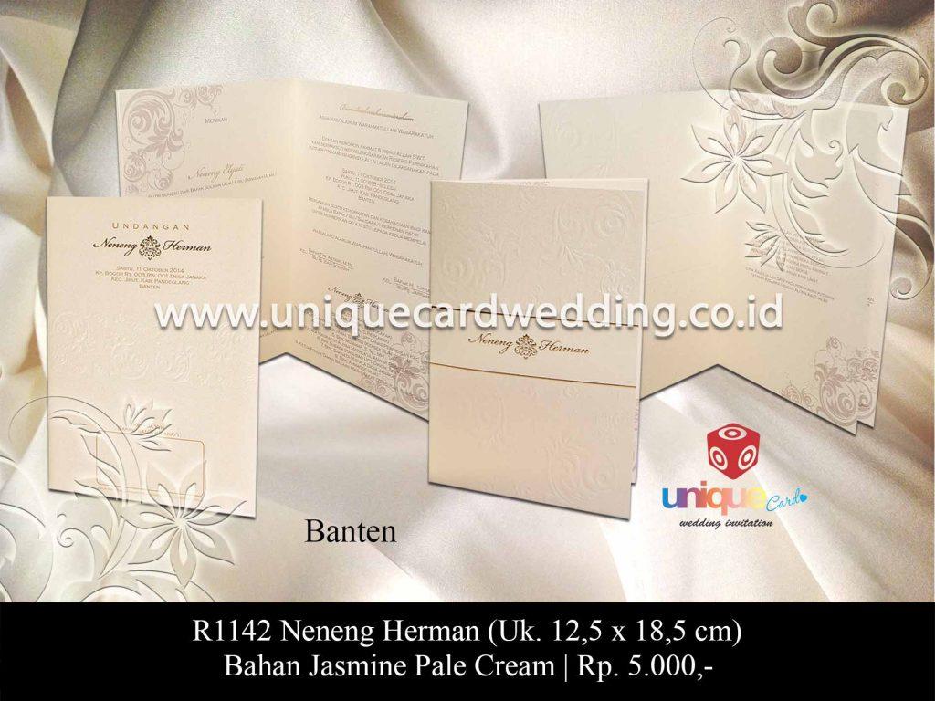 undangan pernikahan-Neneng Herman