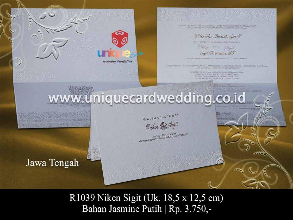 undangan pernikahan-Niken Sigit
