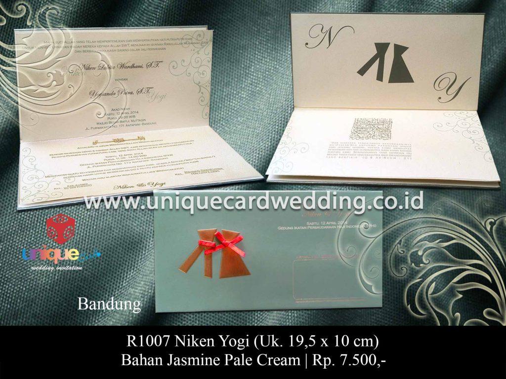 undangan pernikahan-Niken Yogi
