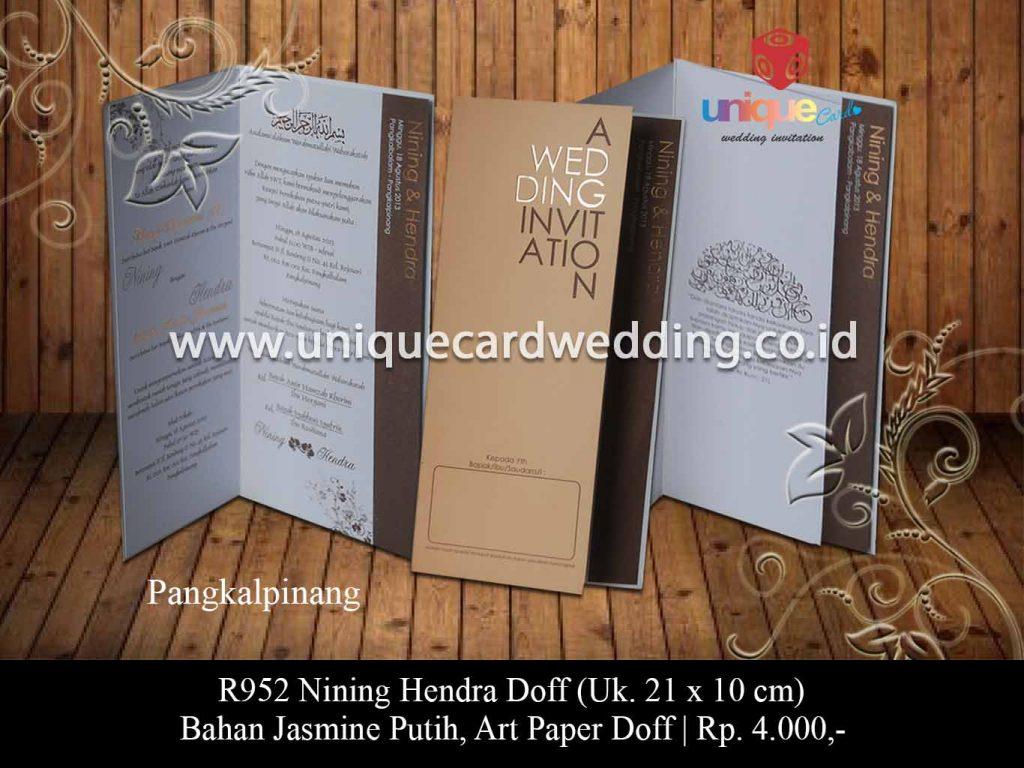 undangan pernikahan-Nining Hendra