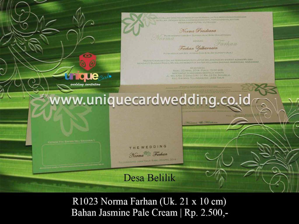 undangan pernikahan-Norma Farhan