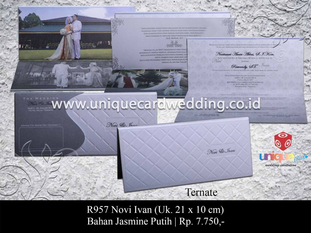 undangan pernikahan-Novi Ivan