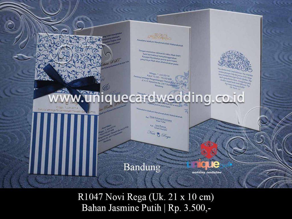 undangan pernikahan-Novi Rega