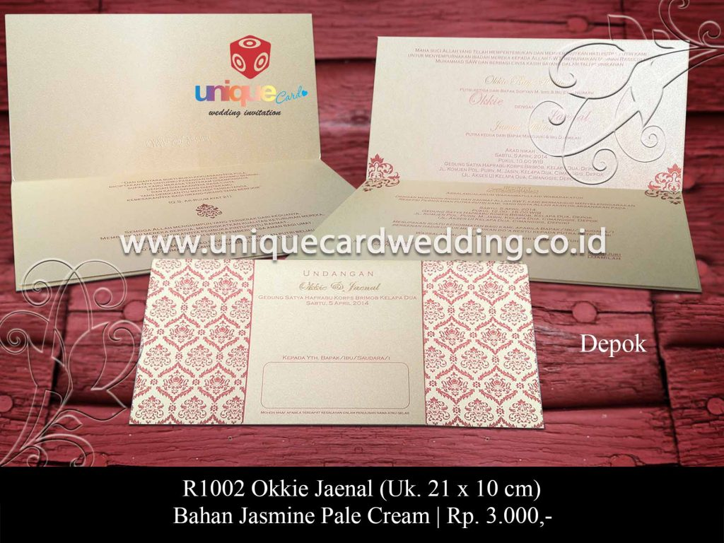 undangan pernikahan-Okkie Jaenal