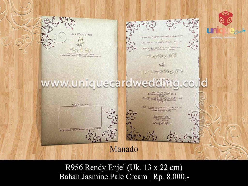 undangan pernikahan-Rendy Enjel