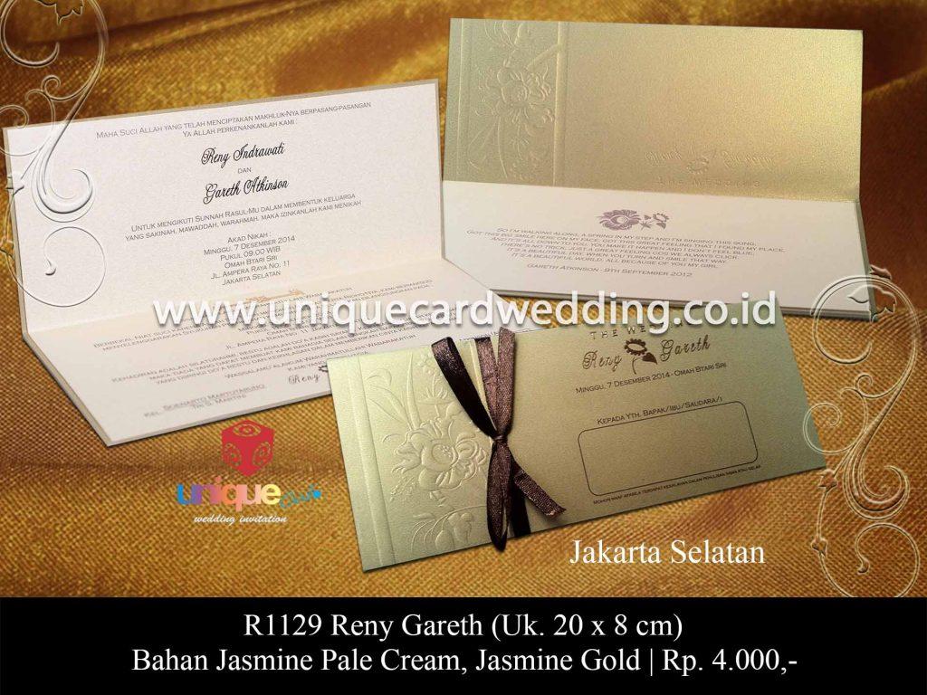 undangan pernikahan-Reni Gareth