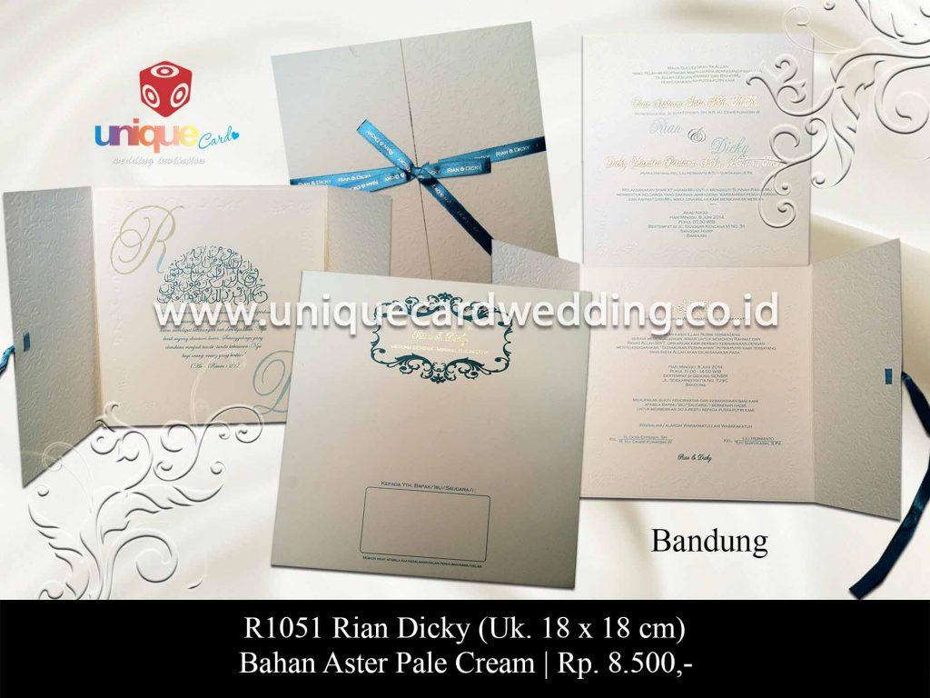 undangan pernikahan-Rian Dicky