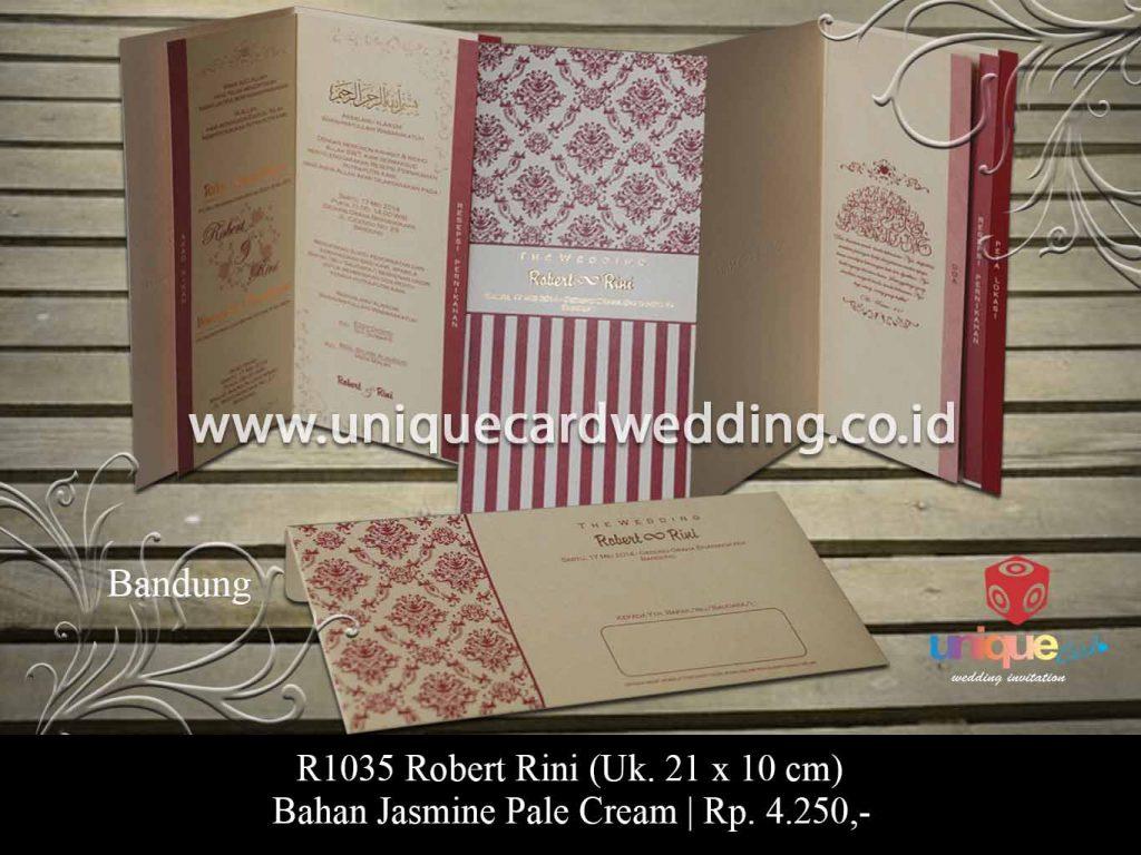 undangan pernikahan-Robert Rini